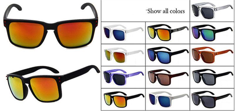 30PCS Gafas de sol cuadradas populares deportes al aire libre montar gafas Europa y los Estados Unidos hombres y mujeres Gafas de marca