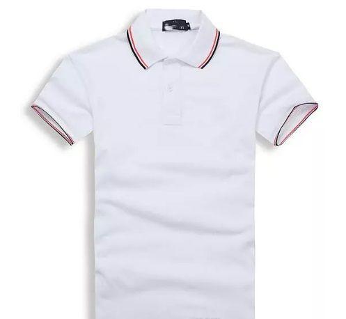 Nowa marka Lato Mężczyźni Polo Haft Koszula Krótkie Rękawy Topy Turn-Down Collar Odzież Polo Męska Moda Casual Polo S-3XL