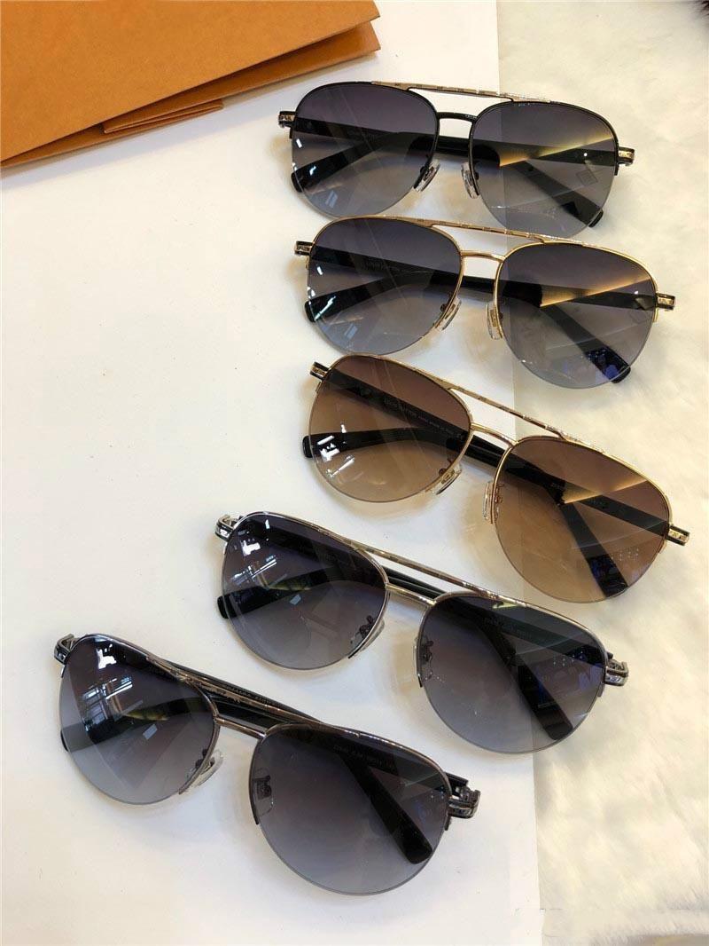 New fashion designer sunglasses 0930 pilot half frame simple popular style uv400 protection wholesale eyewear top quality with box