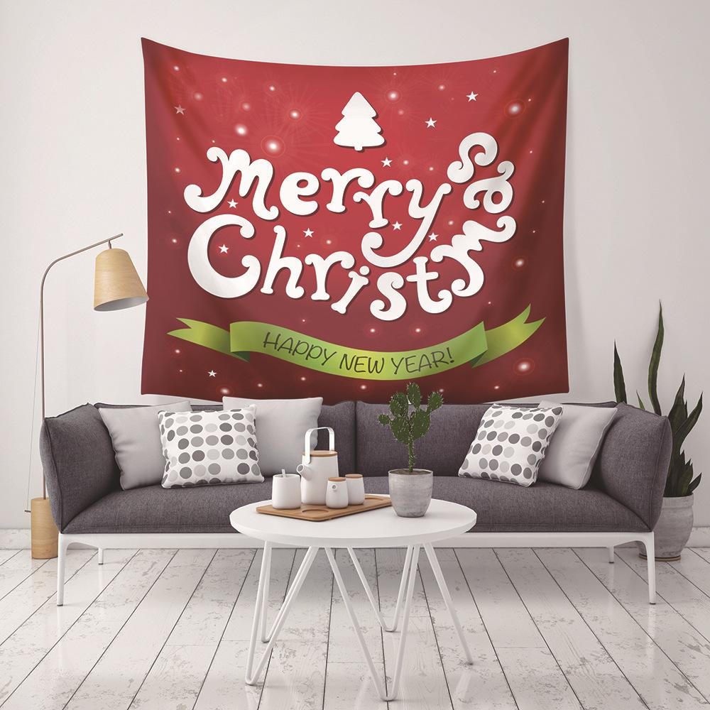 Nueva Llegada 9 Estilos de Navidad Decoración Para El Hogar Tapices Toalla de Playa Manta de Camping Sábana mantel con LED de Navidad de Fondo