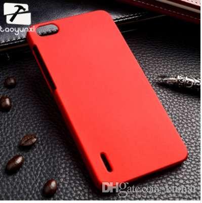 Пластиковый корпус TAOYUNXI телефона для Huawei честь 6 чехол тонкий матовый матовый телефон задняя крышка пластиковый жесткий чехол сотового телефона XJQ