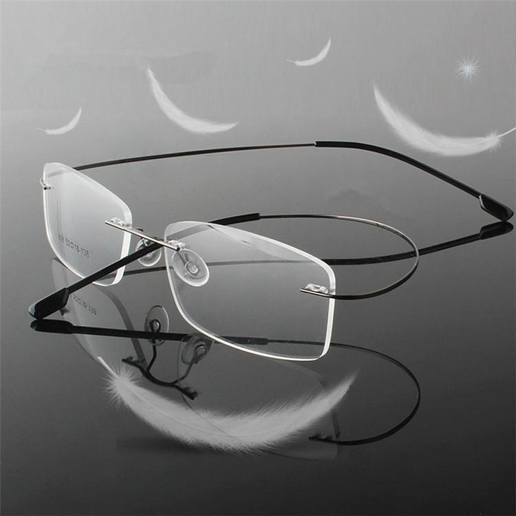 Bezbarwny Titanium Ultra Light Okulary do czytania +1 +1.5 +2 +2.5 +3 +3.5 +4 Bezbarwne Ochki Dlya Chteniya Sin Montura Gafas De Lectura Okulary