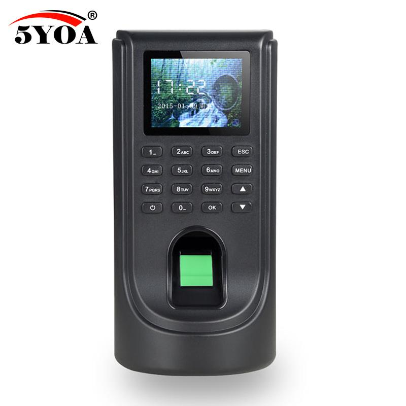 Biometric Fingerprint Access Control Attendance Machine TCP IP Digital Electric Reader Scanner Sensor Code System For Door Lock