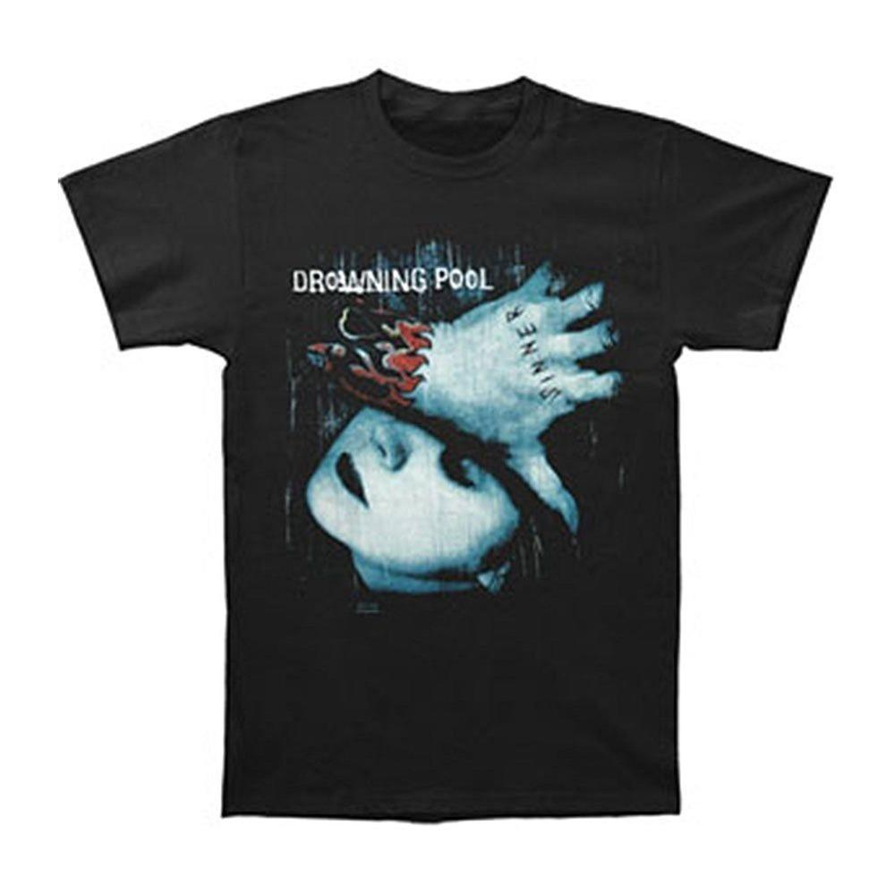 Hot Selling 100% Cotton O-Neck Fashion Drowning Pool Men'S Graphic Printed Short Sleeve Office Tee For Men