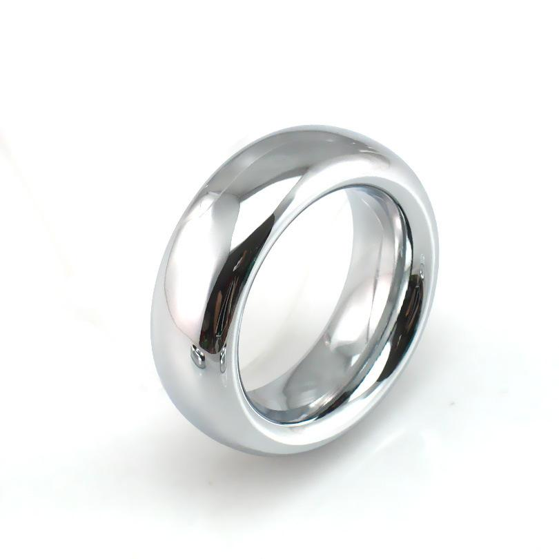 cockring stainless steel scrotum stretcher cock ring metal ball stretcher scrotum penis ring penis sleeve sex toys for man Y1892804