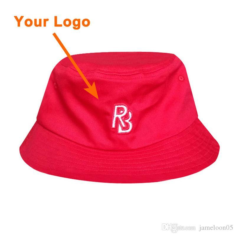 Kova şapka% 100 pamuk malzeme unisex monte boyutu tam yakın konfeksiyon aksesuarları düşük sipariş açık spor fisher şapka özel kova kap