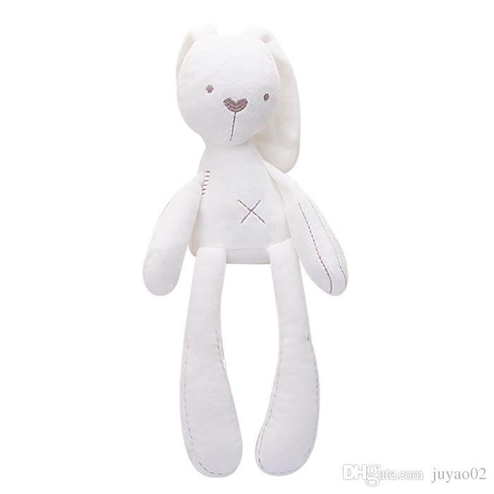 Plüsch Lange Beine Bunny Plüschtier Baby Beruhigende Begleiterpuppe Weich Und Komfortabel Niedlichen Kaninchen Gefüllt Puppe Geburtstag Weihnachtsgeschenk