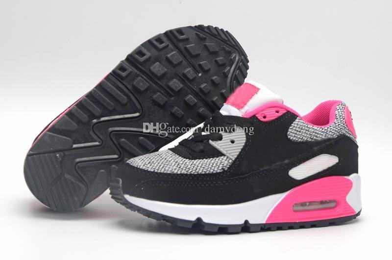 air max 90 rosa e preto