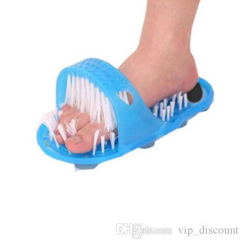 Banyo Ayakkabı Sihirli Taş Masajı Banyo Aracı Ölü Cilt Taşlama Tek Kat Ayak Mat kaymaz Şerit Banyo Set 679343