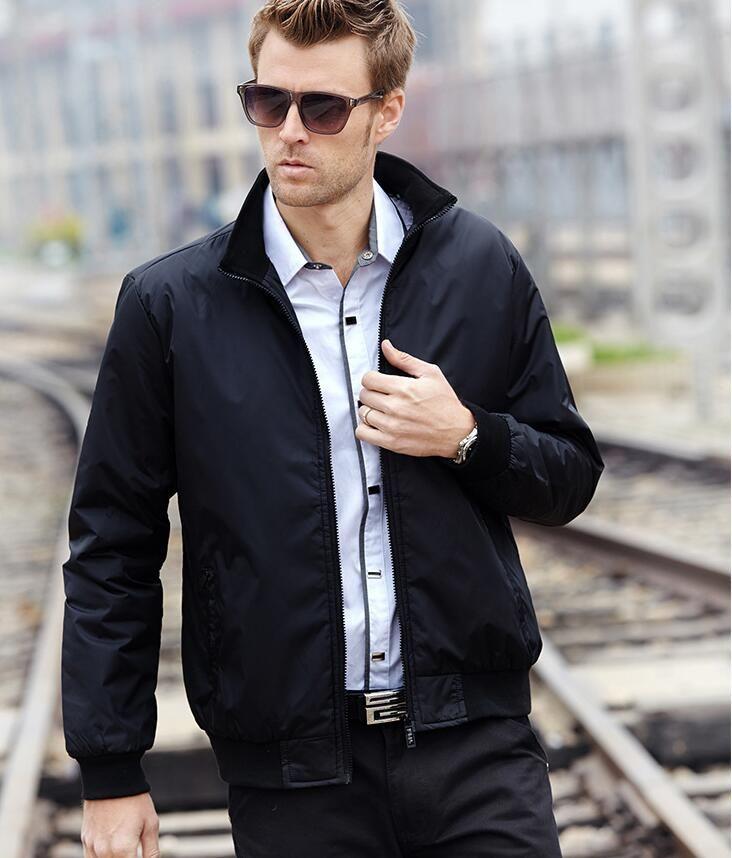 Moda tasarımcısı erkek ceket rahat ince moda ceket erkek giyim fabrikası toptan erkek Giyim Ceket Kısa