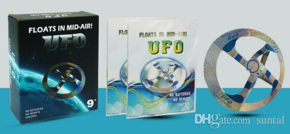 Тайна воздуха НЛО плавающая летающая тарелка волшебная игрушка Волшебник TMystery в воздухе НЛО плавающая Муха Сарик реквизит показать инструмент волшебный трюк игрушка для детей