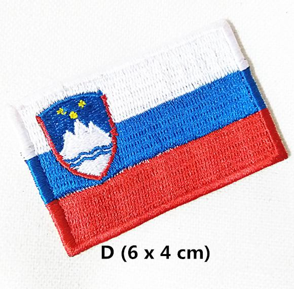 Bandiera SLOVENIA FLAG Slovenia iron-on patch ricamate