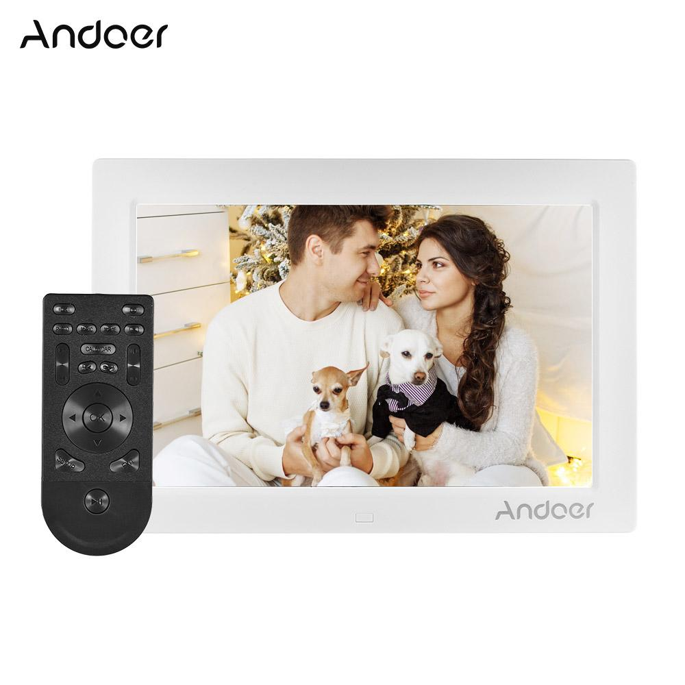wholesale 10inch Digital Photo Frame Full View IPS Screen 1080P Resolution G-Sensor Support Play with Remote Control