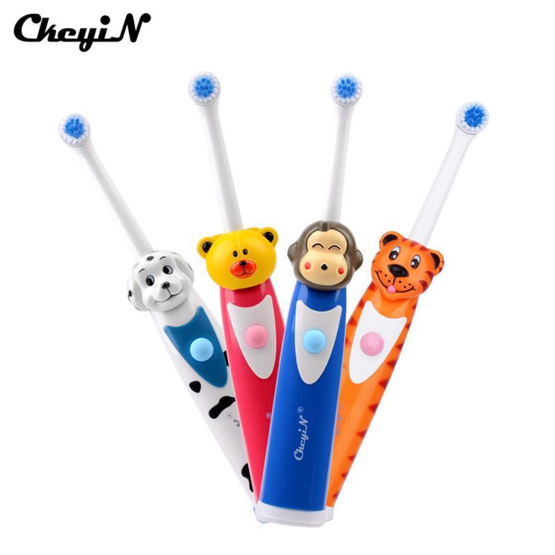 Ultrasonik Titreşimli Elektrikli Diş Fırçası Yumuşak Kıl Silikon Profesyonel Diş Fırçası Ağız Temiz Bebek Ağız Hijyeni Su Geçirmez
