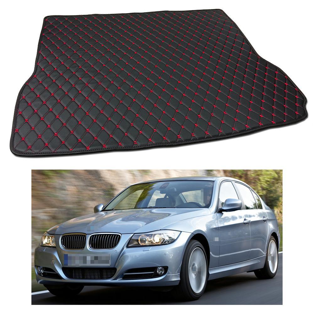 Nueva alfombrilla antideslizante de cuero para coche, apta para BMW Serie 3 2005-2011 06 07 08
