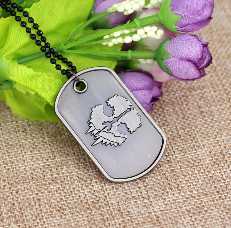 Videospiel Halskette Cod Ghosts Dog Tag Halskette neuen Verkauf für Einzelhandel Bead Kette
