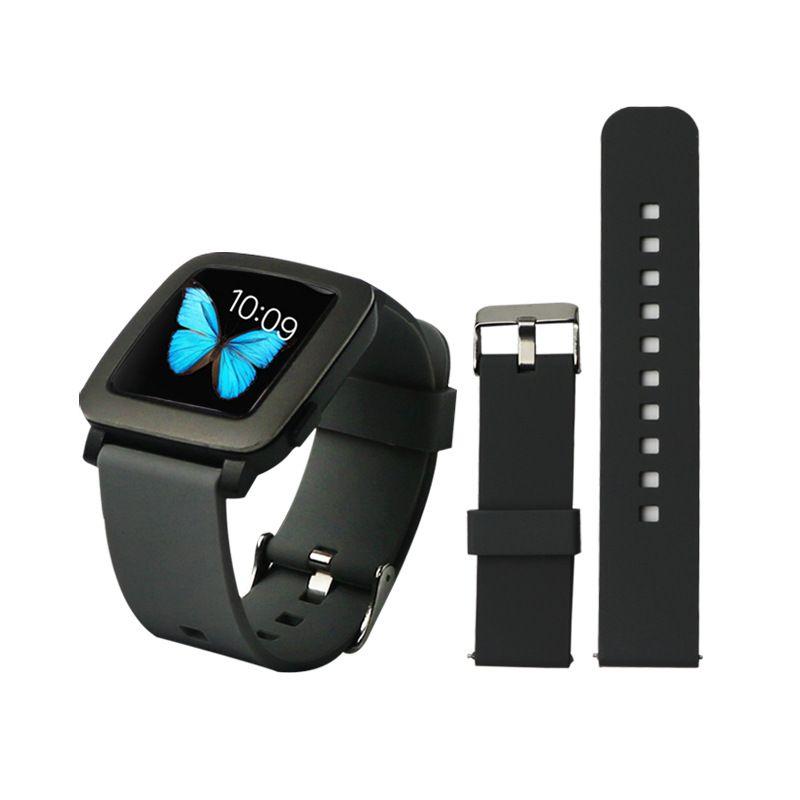 Спортивные силиконовые часы ремешок ремешок для Xiaomi Huami Amazfit Bip BIT PACE Lite Молодежный смарт-часы замена ремешок для Samsung S3