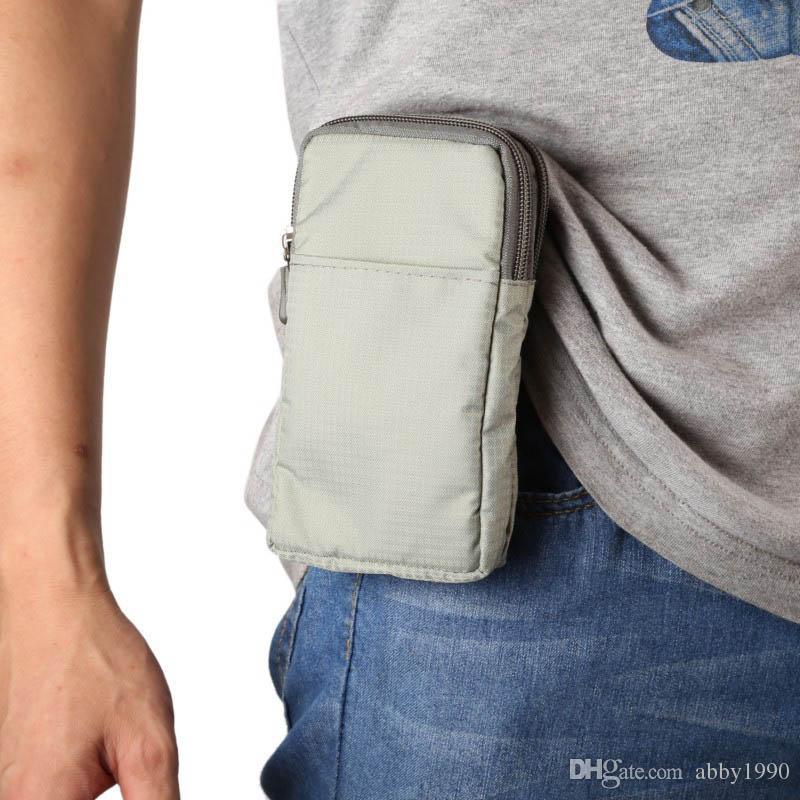 Étui universel multi-fonction ceinture sac de sport pochette pour Oukitel K8000 / Mix 2 / K5000 / C8 / K3 / U22 / U11 Plus / K6000 Plus / U7 Max / U20 Plus / U15S