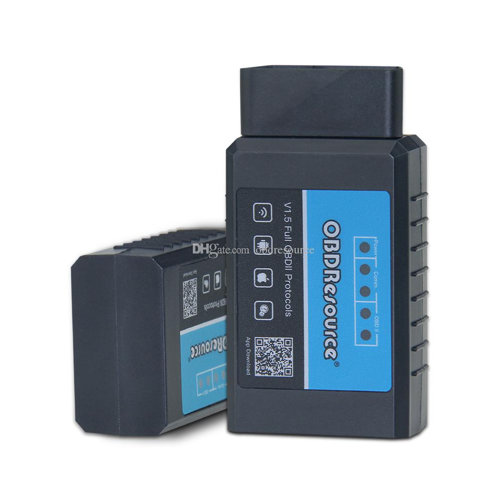 PIC18F25K80 Wifi ELM327 Code Reader OBD Adapter لـ Andriod iOS PC OBD2 أداة تشخيص ELM 327 V1.5 WI-FI لمرسيدس فولفو VAG