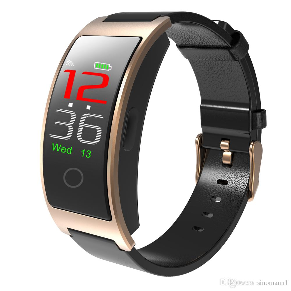 CK11 Fitness Smart Wristband Cicret Bracelet Heart Rate Monitor Blood Pressure Smart Bracelet Watch for iPhone Android Phone