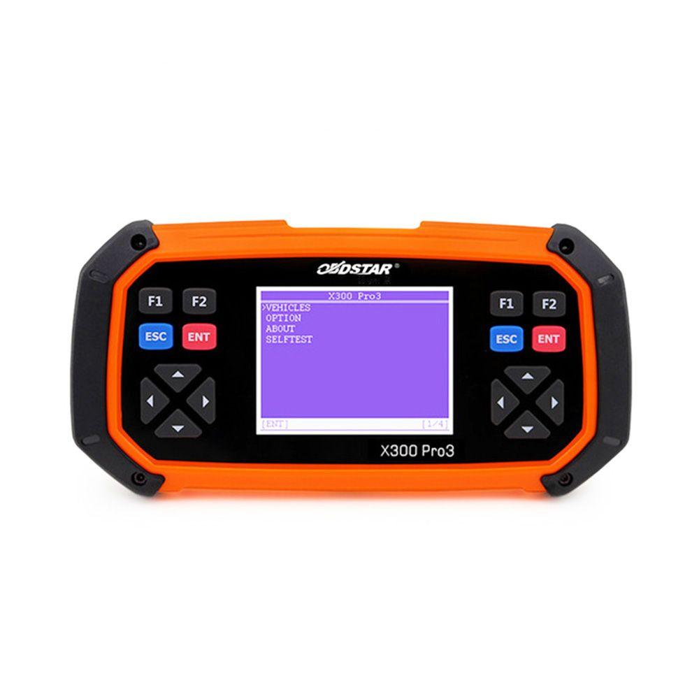 OBDSTAR X300 PRO3 Chave Mestre OBDII Programador Chave Correção de Odômetro Configuração Completa Ferramentas de Diagnóstico Atualização Online