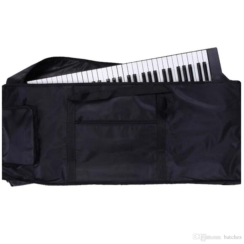 Waterproof 61 Keys Keyboard Bag Backpack 100 x 40 x 15cm black