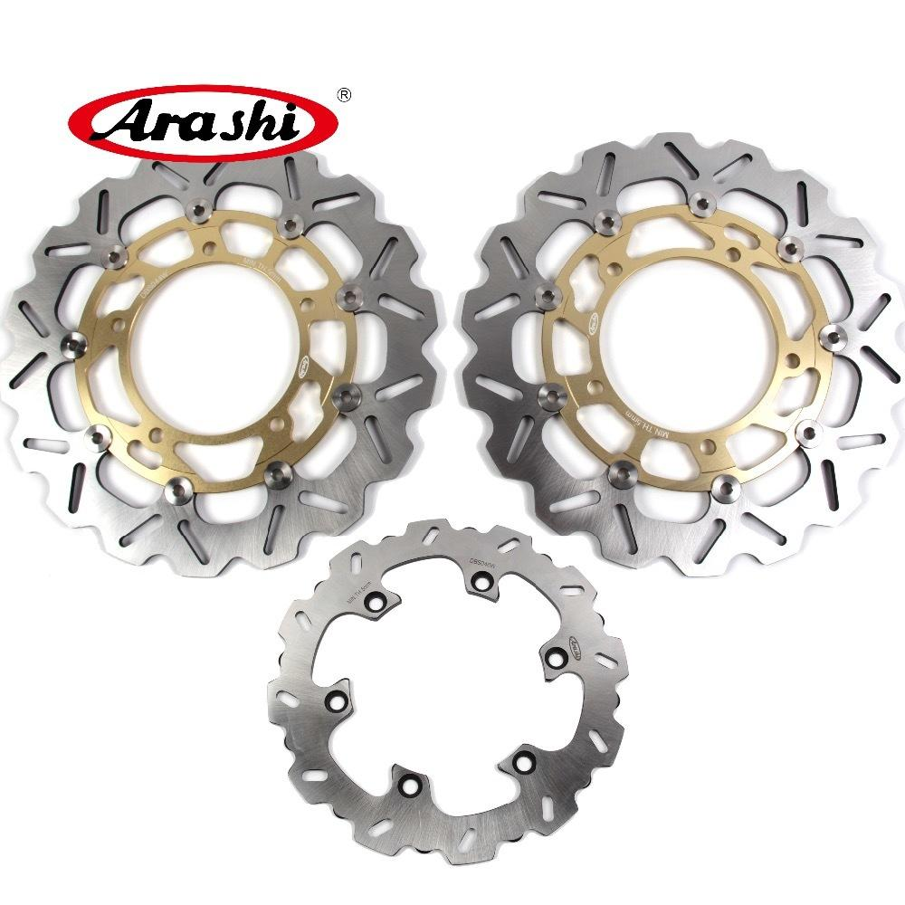 single SUZUKI GSX 1300 B-KING 2008-2011 ARMSTRONG FRONT WAVY BRAKE DISC