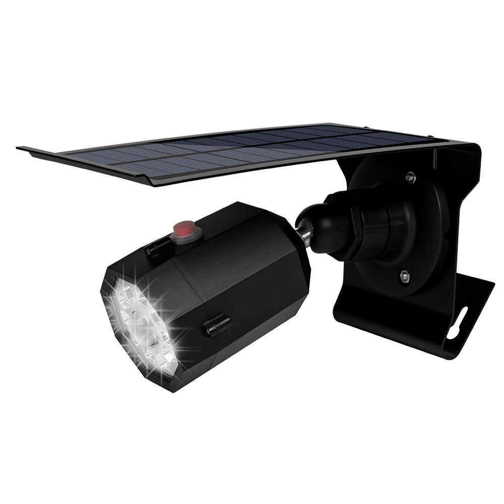Lumière solaire de jardin LED d'extérieur étanche IP65 Simulation Caméra Luces Solares Para lampe extérieure Motion Sensor rue Jardin Décoration