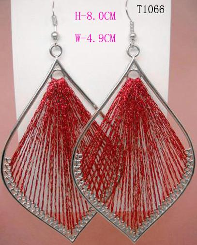 T1062 Fashion Jewelry Handcraft charme Leaf Style Mignon Dangle Earrings