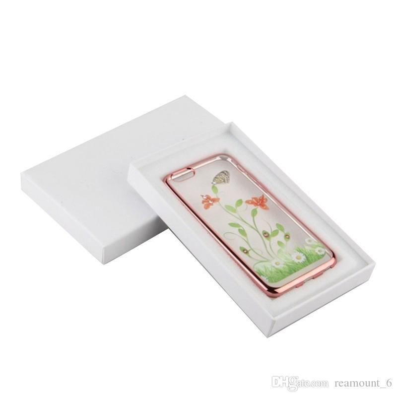 30 جهاز كمبيوتر شخصى LOGO رقة مربع بالجملة العالمي الثابت مخصص الطباعة التعبئة والتغليف للحالة الهاتف المحمول لفون X 7 زائد فاخرة هدية مربع