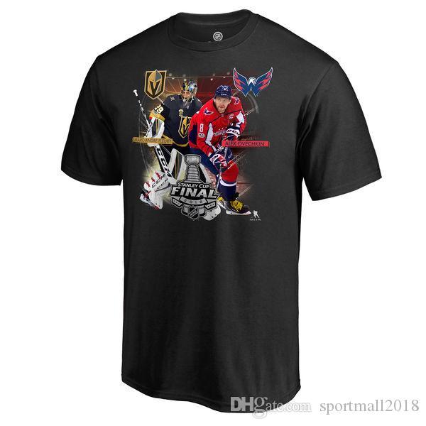 2018 NHL Washington Capitals Eastern Conference Champions Lega finale della Coppa Stanley Ovechkin TJ Oshie Holtby Tom Wilson Nome Numero T-Shirt
