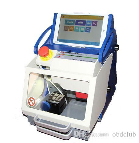 New 100% Original DHL free TOP Quality Full-Automatic Car Key Cutting Machine SEC-E9z CNC automatic key cutting machine Multi Language