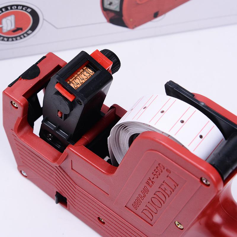 Оптовая торговля-ручная цена Этикетировщик три цвета MX-5500 Этикетировщик 8 цифр ценник пистолет розничный инструмент, Этикетировочная машина