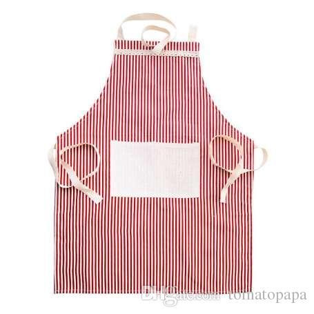 Grembiule da donna con grembiule da cucina per grembiuli da cucina con tasche, spedizione gratuita # PYE0