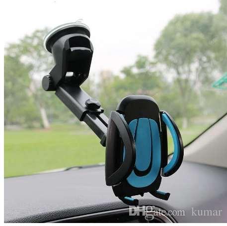 جيريفيش حامل الهاتف سيارة GPS الملحقات شفط كأس السيارات لوحة القيادة الزجاج الأمامي الهاتف الخليوي الجوال قابل للسحب جبل حامل