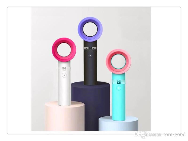 360 Grad tragbarer blattloser Hand Kühlventilator Mini USB Kabel kein Blatt Fan