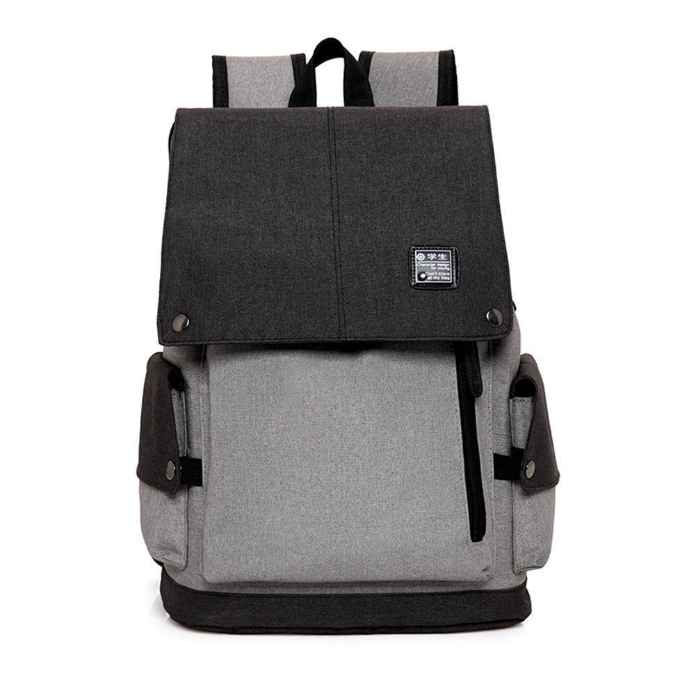 Business Laptop BackpacAnti ladrón Lágrima / bolsa de viaje resistente al agua para hasta 15 pulgadas Macbook Computer USB carga Backpa