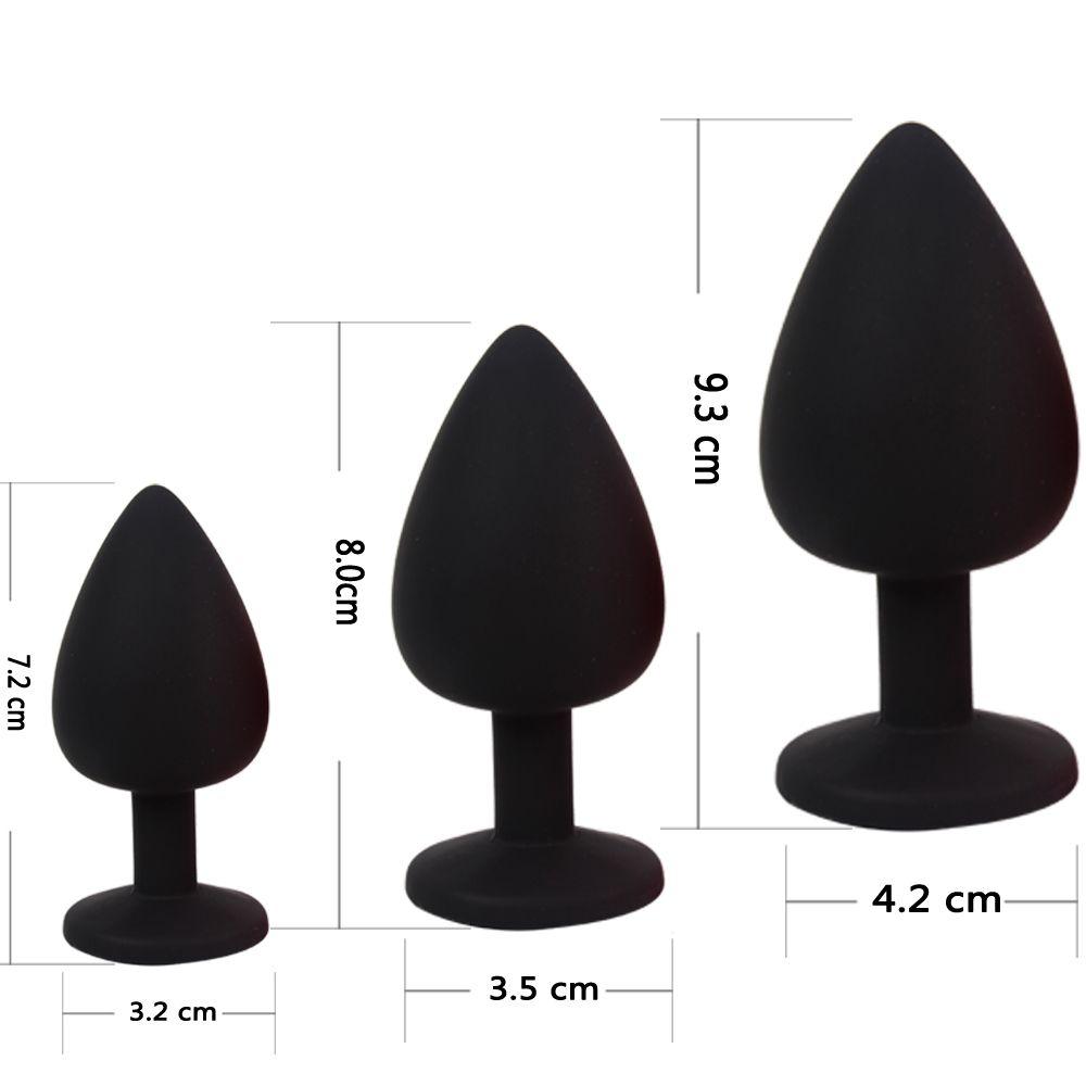 Anal Plug Hombres Prostate Ikoky Sex Toys Massager Butt para productos para adultos eróticos Plug de silicona Mujeres S924 Vabtq