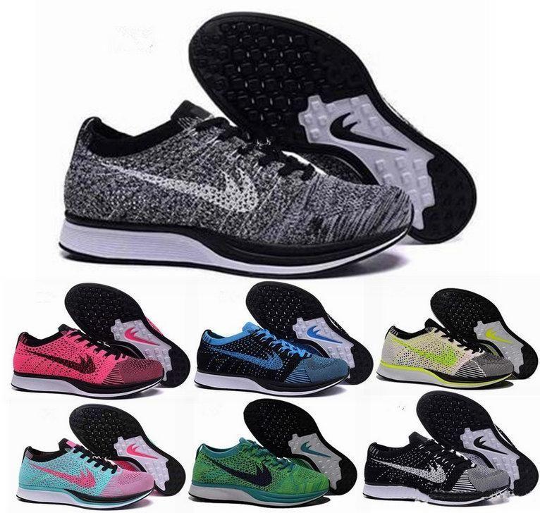 저렴한 2017 남성 여성 경주자 경주 신발 트레이너 Chukka 블랙 레드 블루 그레이 경량 통기성 운동화 EUR 36-45