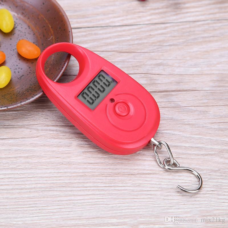 Fishing Weighing 25kg Mini Digital Pocket Scale for Fishing Portable Multifunctional Hanging Electronic Hook Scale Tackle