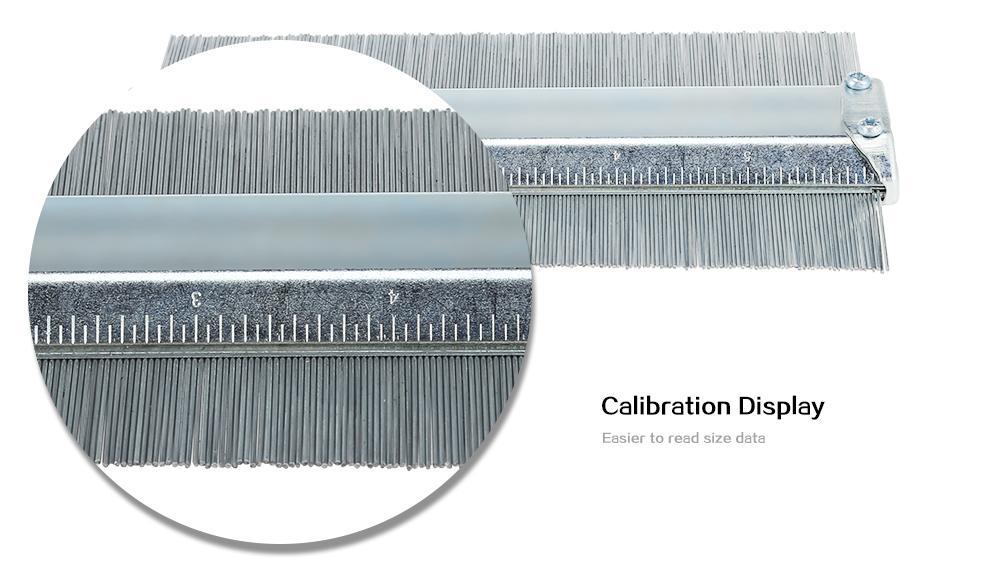 Andifany Calibro Professionale del Profilo di Profilo del Metallo di 150mm 6 Pollici Che Piastrella Le Mattonelle Laminate Strumenti Generali Contorno del Duplicatore del Calibro