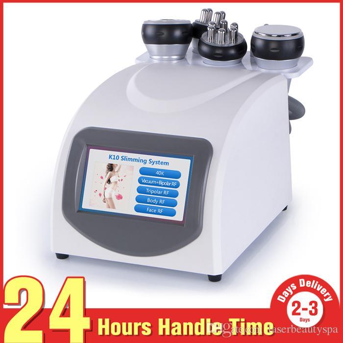 5 en 1 equipo de belleza RF de vacío 40K cavitación ultrasónica lipólisis reducción de grasa que adelgaza la máquina del cuerpo que forma la pérdida de peso