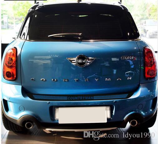AQNPYR Paraurti Posteriore per Auto in Fibra di Carbonio Tronco per Bordo di carico Adesivi per Protezioni per Protezioni./per Mini Cooper S JCW R56 Cabrio R57 Accessori Auto