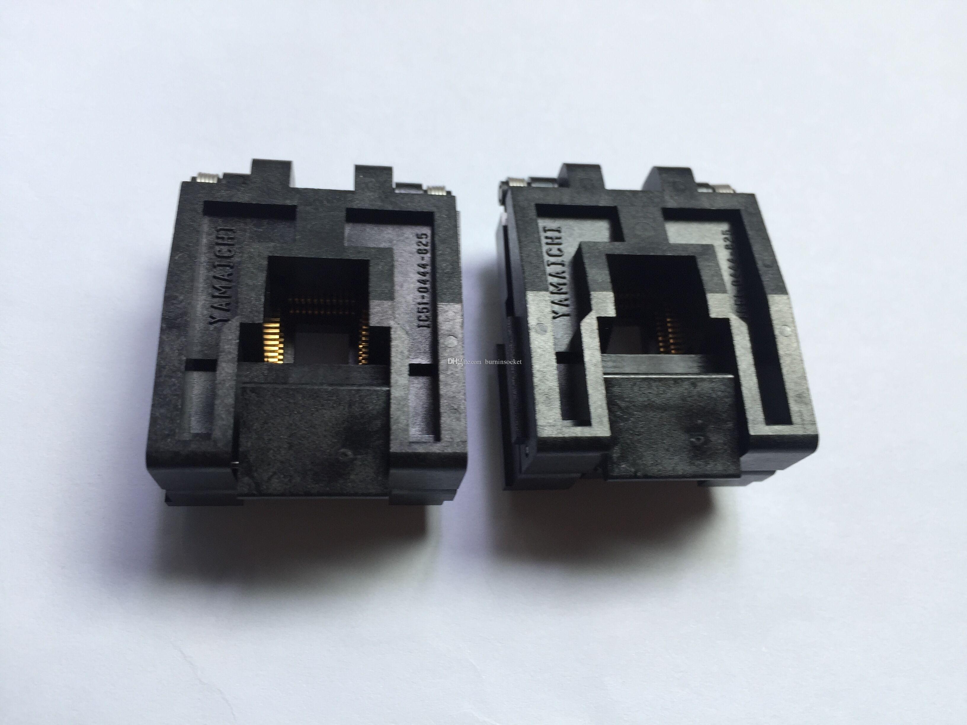 IC51-0444-825 Yamaichi IC Test Socket QFP48pin passo 0,8 mm IC bodys formato 10x10mm bruciare in presa