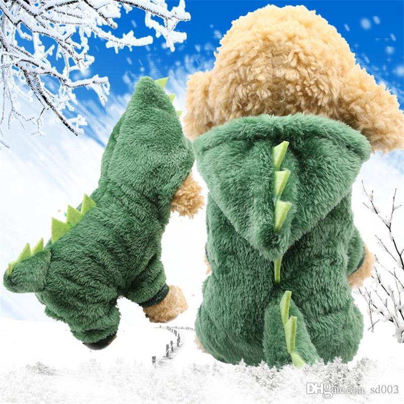 Poodle Puppy Winter Cute Clothes Soft Coat Jacket Sweater Cotton Clothes Pet Outerwears Supplies Apparel Many Colors New 15gc ZZ