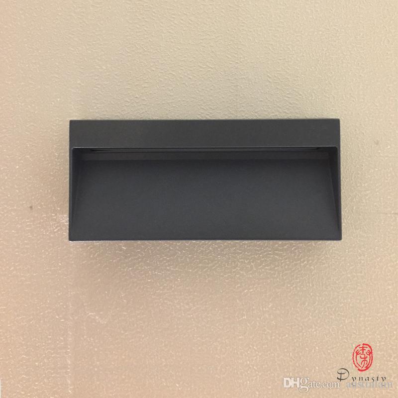 왕조 사각형 LED 벽 조명 야외 실내 알루미늄 방수 벽 램프 벽 욕실 현관의 홀 팔러 통로 카페 무료 배송 탑재