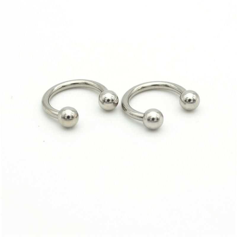 2020 316l Surgical Steel Horseshoe 14g Ball 4mm Curved Fashion Body Piercing Jewelry Belly Bar Hoop Nose Rings Earrings For Women From Luzhenbao523 11 46 Dhgate Com