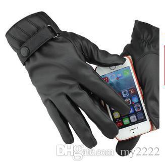 Deporte agarrando el guante caliente al aire libre de la pantalla táctil, resistente al viento y al deslizamiento de invierno panel de control táctil de esquí impermeable a prueba