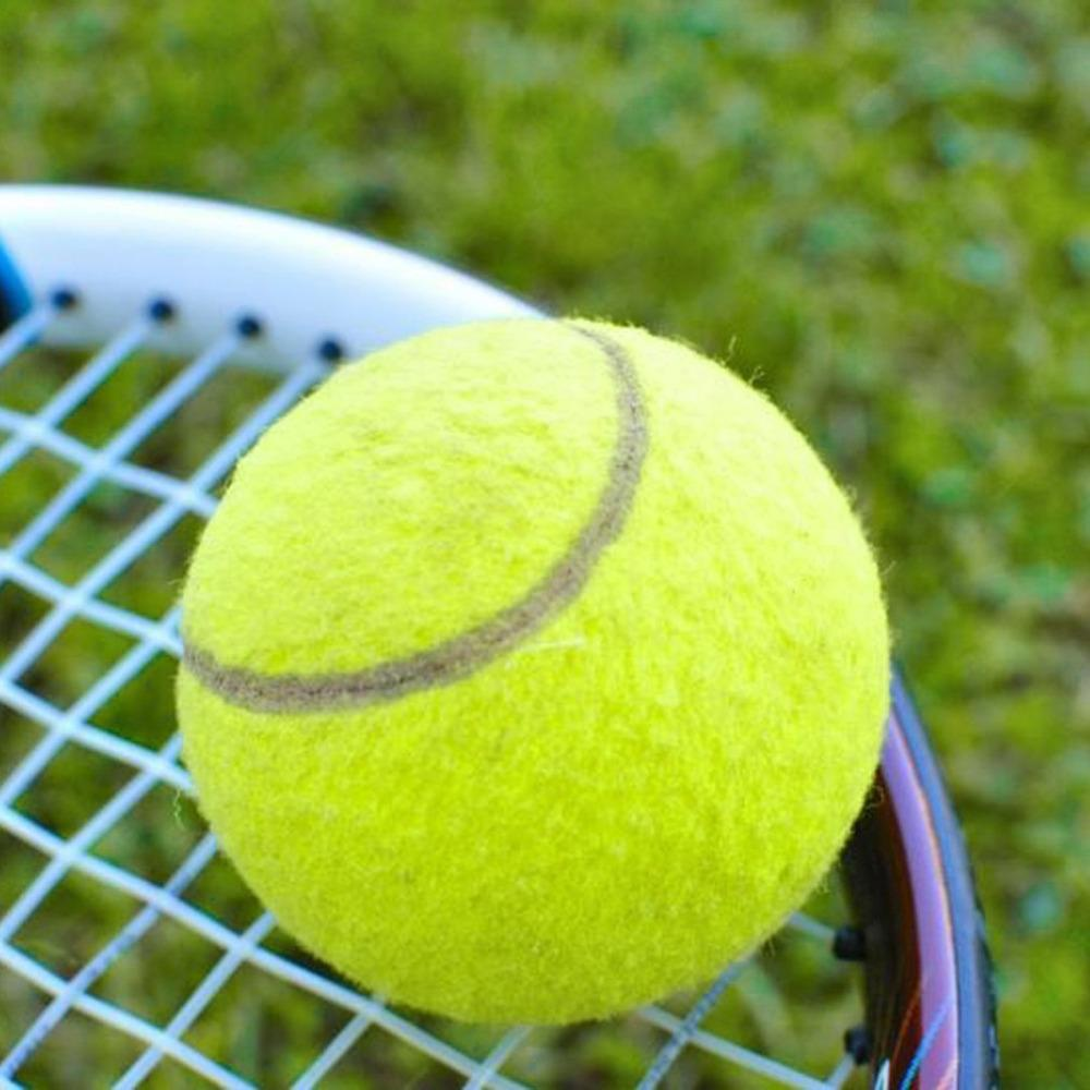 Tennis Balls Sports Tournament Outdoor Fun Cricket Beach Dog Ideal for Beach Cricket Tennis Practice Durable to Use High Quality