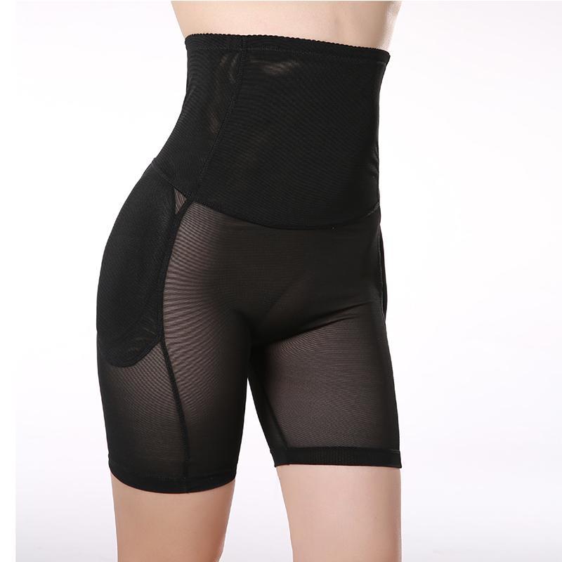 Pantalones de Control Butt Lifter Hip Up acolchado adelgazamiento Lifting Mujeres Body Shaper Butt Enchancer Slimming Shaperwear Ropa interior encantadora pantalones de la cadera
